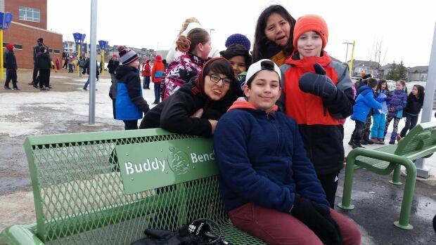 buddy bench