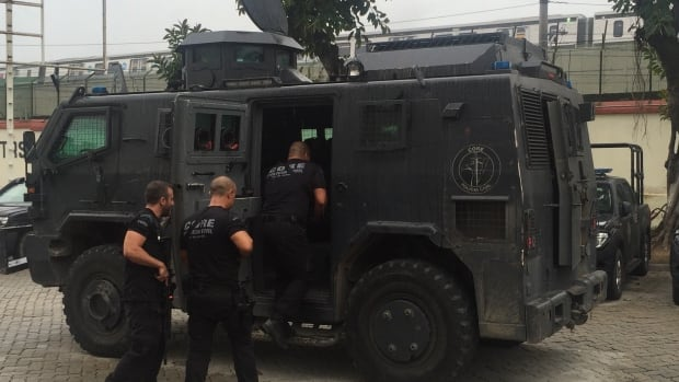 The Olympics security force will be comprised of some 48,000 police, ambulance and fire personnel, bolstered by 38,000 members of Brazil's armed forces.