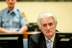 APTOPIX Netherlands War Crimes Karadzic
