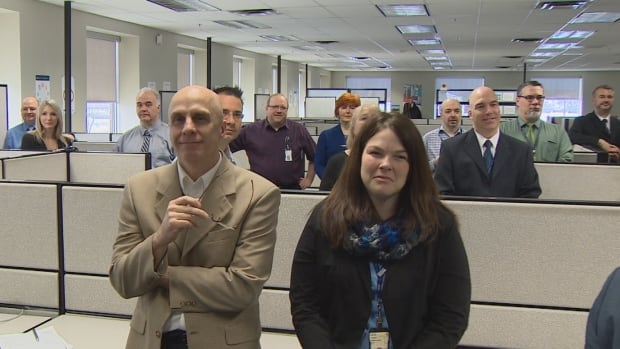 IBM employees in Saint John get the word the company is adding 110 workers in their office, and another 40 in Florenceville-Bristol.
