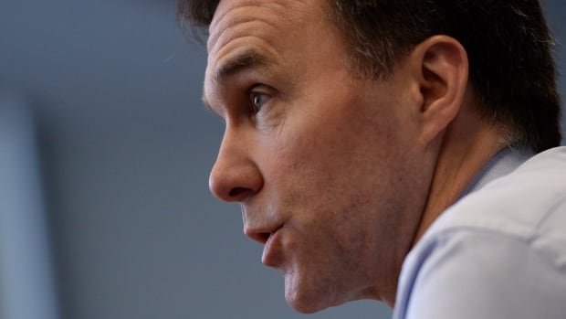 Finance Minister Bill Morneau told The Canadian Press Thursday that the current mechanisms for setting employment insurance premiums and managing the EI fund's surpluses and deficits work. Critics object to how EI funds have helped governments balance their books in the past.