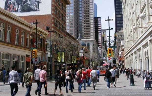 Stephen Avenue Calgary