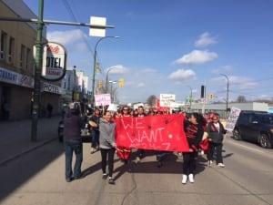 March on Legislature demands drop-in centre