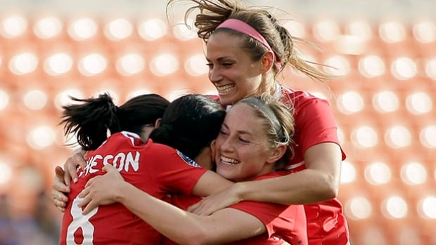 Canada's women's soccer team beat Brazil in the final of the Algarve Cup earlier this month, helping them move up in FIFA's rankings.