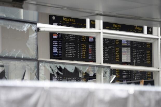 Belgium airport terminal bomb