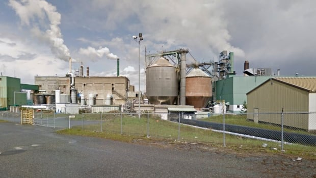 The Harmac pulp mill is located near Nanaimo, B.C.