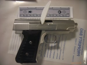 Citizen's arrests gun seized