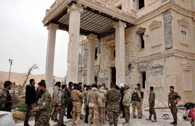 MIDEAST-CRISIS/SYRIA-PALMYRA