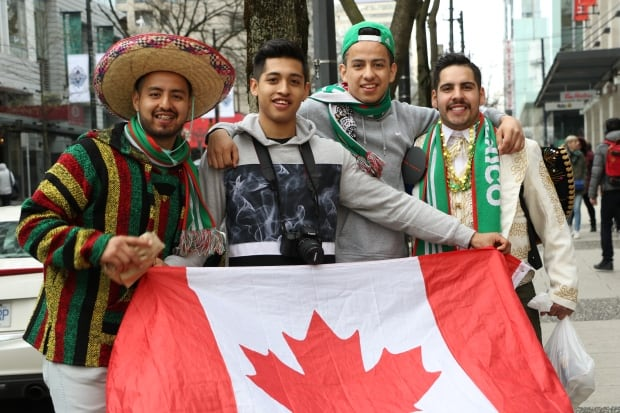 Mexico vs Canada FIFA Qualifying Match