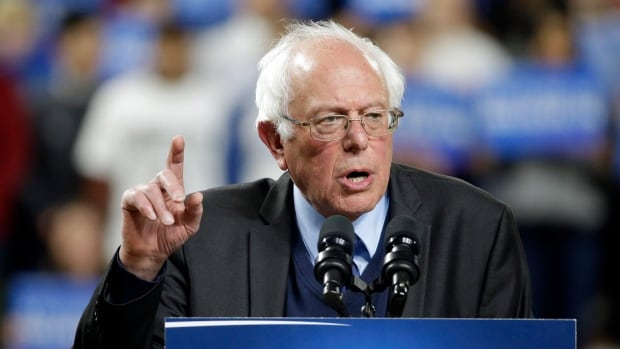 An estimated 15,000 people came out to see Democratic presidential hopeful Bernie Sanders at Safeco Field in Seattle, Washington, on Friday.