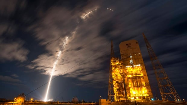 This was the scene when the United Launch Alliance Atlas V rocket carrying Orbital ATK's Cygnus spacecraft blasted off from the Cape Canaveral Air Force Station in Florida on March 22.