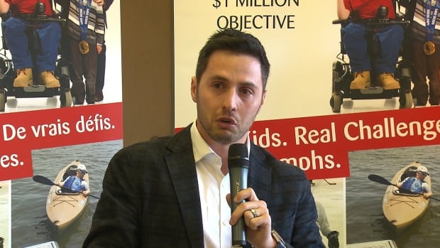 Bilodeau is helping to raise $1 million for MacKay's adapted sports programs.