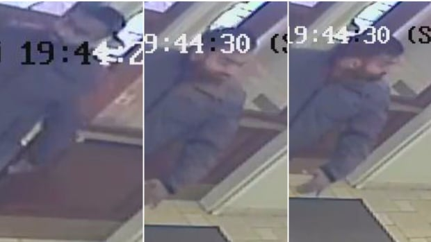 The suspect entered a seniors' home room and began to remove his pants Friday at about 8:15 p.m.