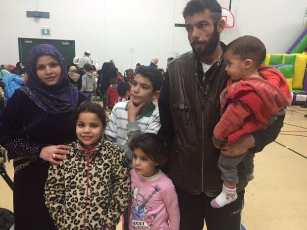 Ahmad Mohammad and Zakarya al Ahmar and family