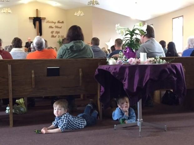 Chase Martens, Austin church service