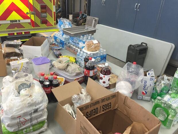 Kentville fire donations
