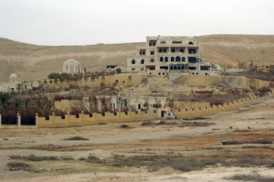 Palmyra recaptured from ISIS March 24 2016