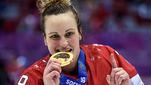 Canada's Marie-Philip Poulin scored a pair of goals in both the 2010 and 2014 Olympic finals to beat the rival U.S.