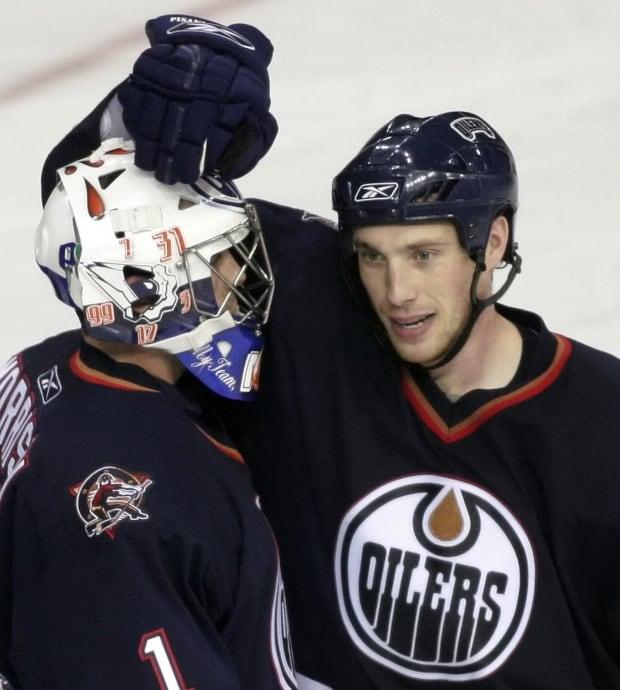 NHL-Mighty Ducks-Oilers TOPIX