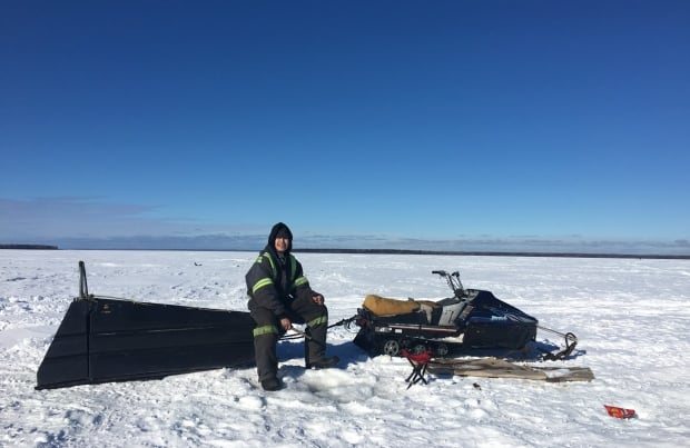 La Loche ice fishing