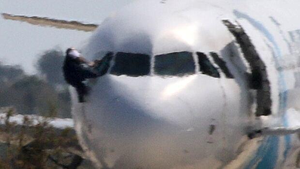 EgyptAir plane hijacked