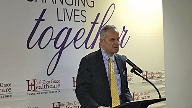 Erie St. Clair Local Health Integration Network CEO Gary Switzer calls the Transitional Stability Centre a building block in mental health care.