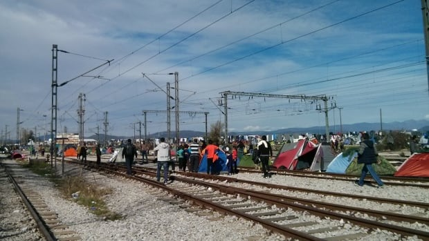 There were 16,000 refugees at the Idomeni camp, located in Greece next to the Macedonia border, when Nicole So volunteered in March.
