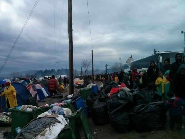 idomeni refugee camp greece