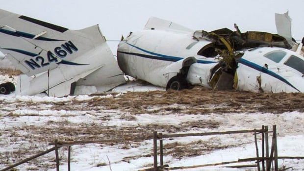 The small aircraft crashed in a field in Havre-aux-Maison on Quebec's Magdalen Islands, killing all 7 on board.