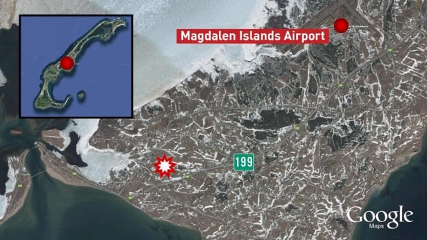 Magdalen Islands plane crash
