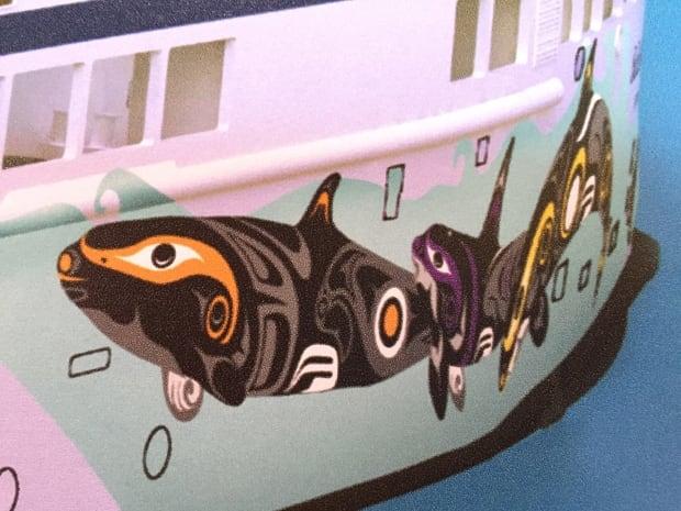 Salish orca