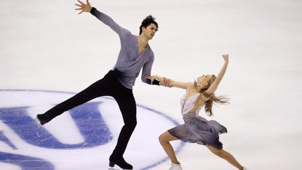 Kaitlyn Weaver, right, and Andrew Poje are perhaps Canada's best bets for medals as the world figure skating championships begin Wednesday in Boston.
