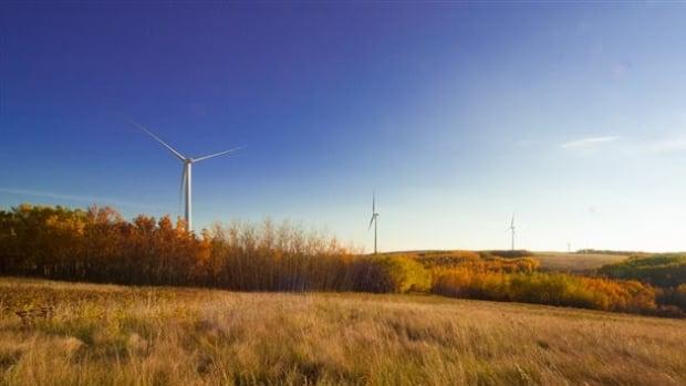 The Bull Creek wind farm, near the border with Saskatchewan, can power 10,000 average Alberta homes a year.