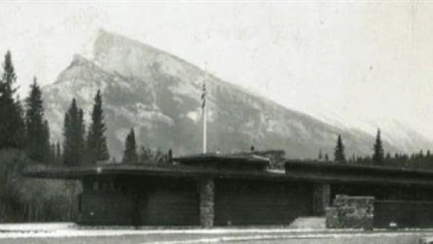 Frank Lloyd Wright's Banff Park Pavilion