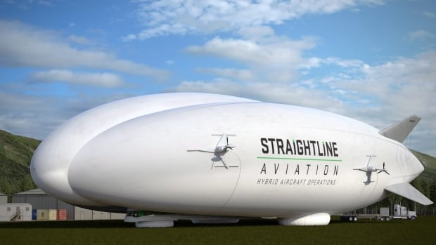 Lockheed Martin plans to sell 12 hybrid airships to Straightline Aviation of the United Kingdom, which is expected to transport goods around the world including the oil sands and Canada's North.