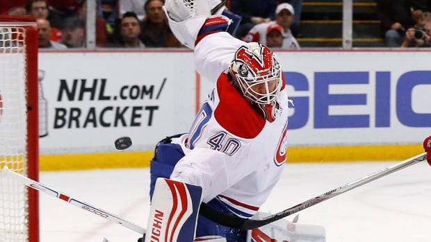 The Canadiens have waived goalie Ben Scrivens, who played only 15 games with the NHL team. Scrivens, 29, posted a 5-8-0 record, 3.07 goals-against average and .906 save percentage with Montreal, which is similar to his career totals of 2.96, .905. The Habs also signed NCAA netminder Charlie Lindgren of the St. Cloud State Huskies to a two-year, two-way contract. He will remain with the Canadiens for their final five regular-season contests.