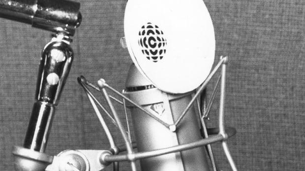 CBC Radio Microphone