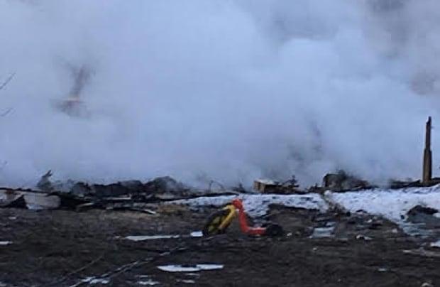 Pikangikum First Nation fire