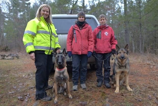Image result for cadaver dogs