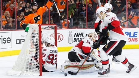 Flyers Continue Surge With Win Over Senators