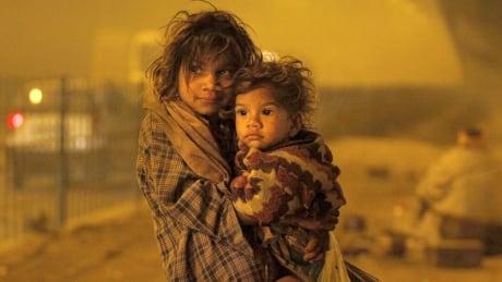 Homeless children in India