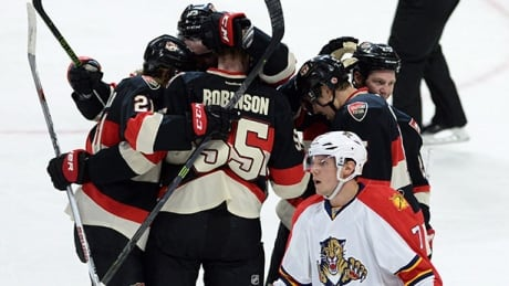 Buddy Robinson's First NHL Goal Lifts Senators Over Panthers In Home Closer