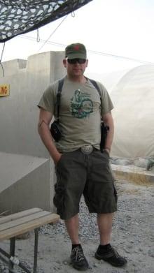 Colin Evans Kandahar