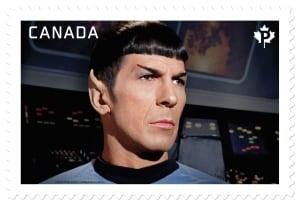 Spock stamp
