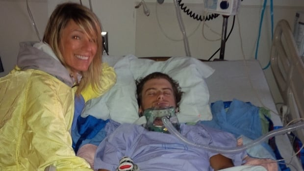Lisa Johnson kept vigil at the bedside of her son, Cody, who spent two months in a coma after a drunk-driving crash in 2013.