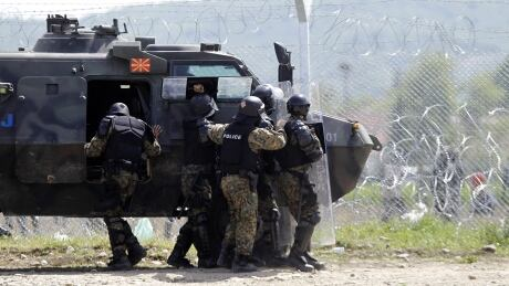 Macedonia Croatia Slovenia Migrants