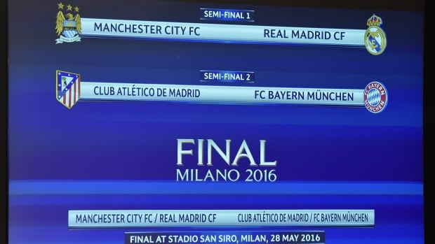 champions league match results