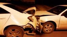 Crash in Regina on April 15, 2016