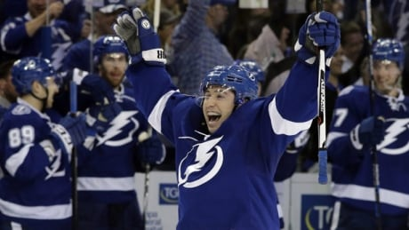 Tyler Johnson Scores Twice To Lead Lightning Over Red Wings