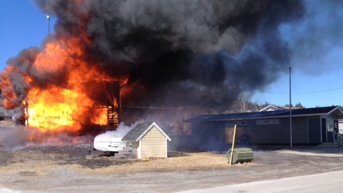 Mother and 2 kids displaced by fire in port saunders for Classic house nl